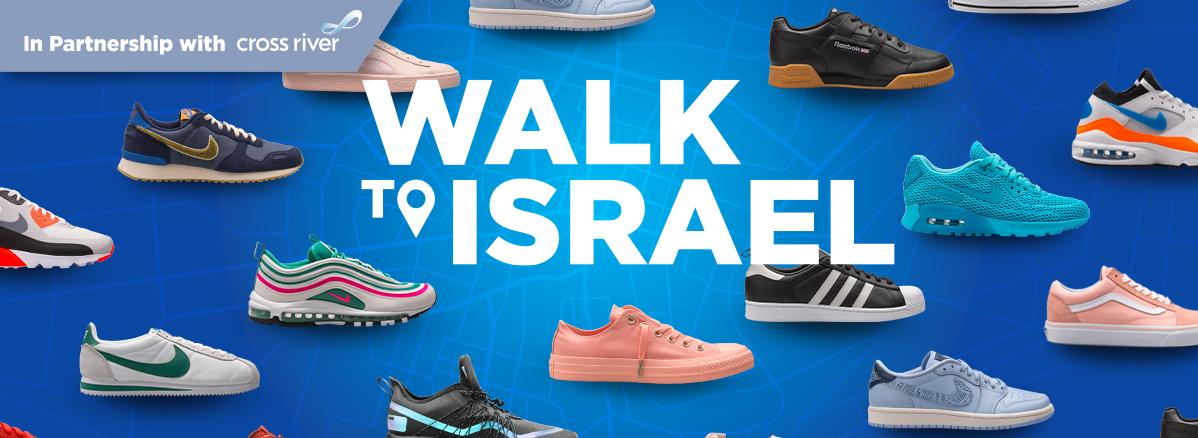 Olami's WalkToIsrael 2020 – Powered by Charity Footprints