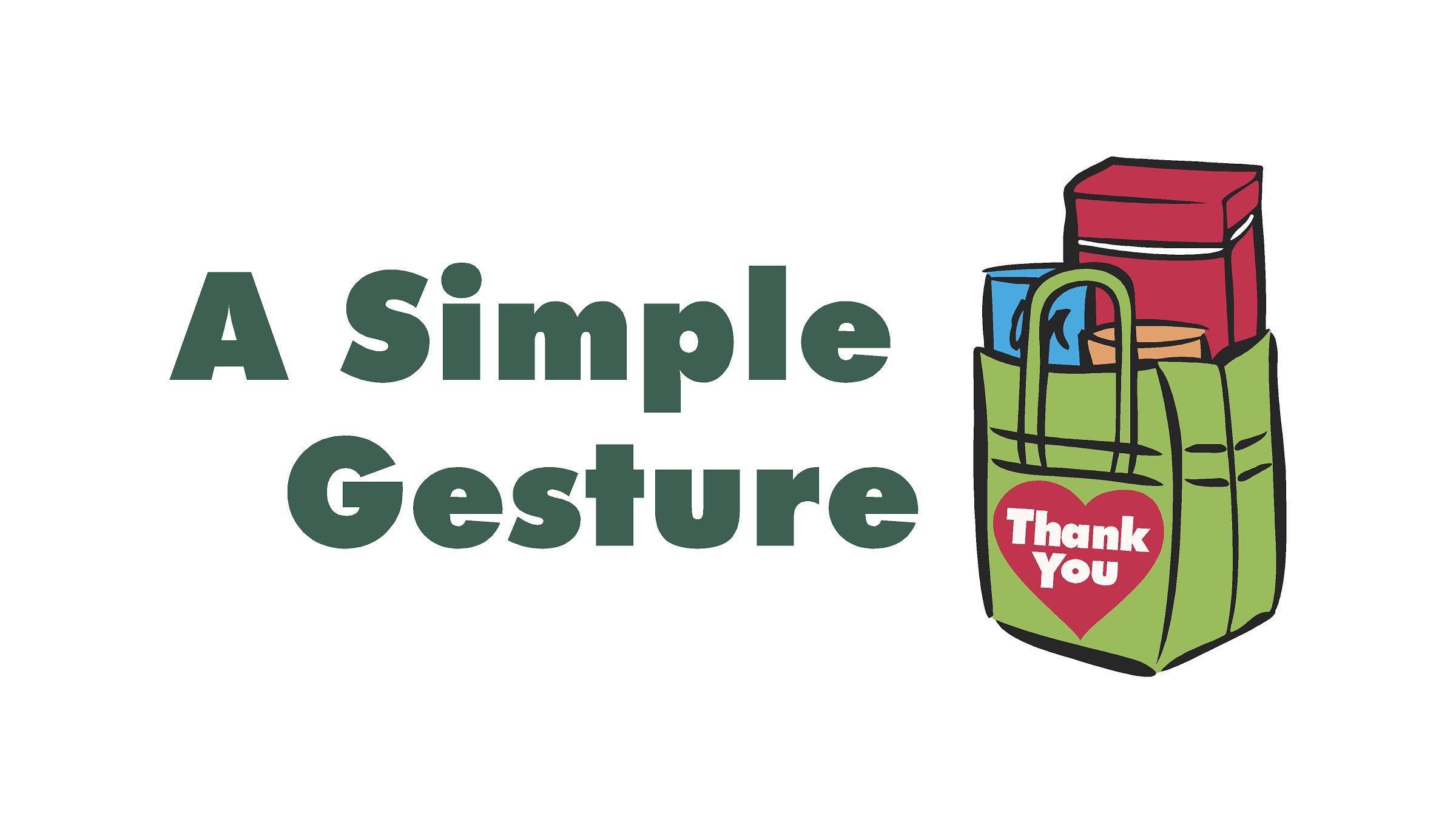 A Simple Gesture - Greensboro